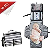 Portable Diaper Changing Pad - YITUOOW Waterproof Travel...