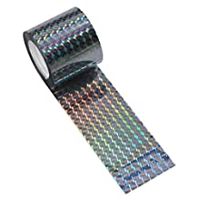 SCHOME Bird Repellent and Deterrent Reflective Tape - Keep Away Pigeons, Ducks, Crows and More (150 Ft.)
