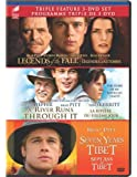 Legends of the Fall / A River Runs Through It / Seven Years in Tibet (Triple Feature 3-DVD Set)