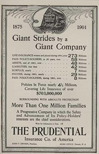 1903-ad-prudential-insurance-financial-status-giant-strides-by-a-giant-company-original-vintage-adve