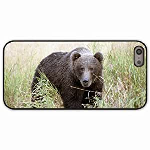 iPhone 5 5S Black Hardshell Case thickets grass Desin Images Protector Back Cover by mcsharks