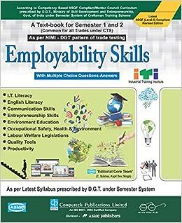 employability skills question paper 2014