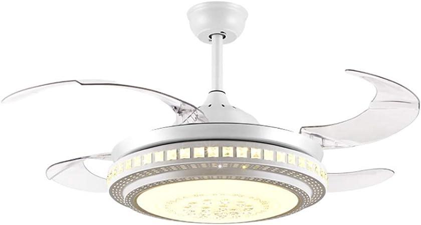 Luz del ventilador de techo 4 Hoja de luz Ventilador de techo ...