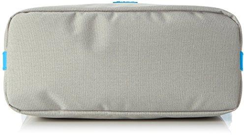BREE Damen Limoges 5 S17 Schultertasche, Einheitsgröße Mehrfarbig (Light Grey/Pacific)