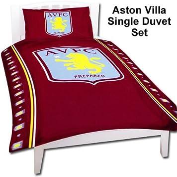 Aston Villa Duvet Set Single