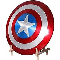 Avengers Réplica de Marvel Escudo Capitan America 60Cm, 1:1 Accesorios de Disfraces Retro de Halloween para Adultos…