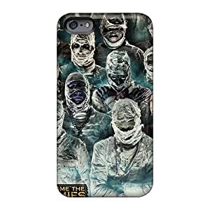Scratch Resistant Hard Phone Cover For Iphone 6 With Customized High-definition Breaking Benjamin Pictures DannyLCHEUNG