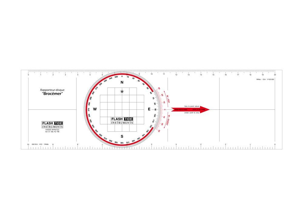 Flash-Tide - Rè gle Rapporteur de Navigation Brocé mer Nautic Training Concept BROCEMER