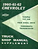 service manual chevy - 1960 1961 1962 CHEVY TRUCK Shop Service Repair Manual