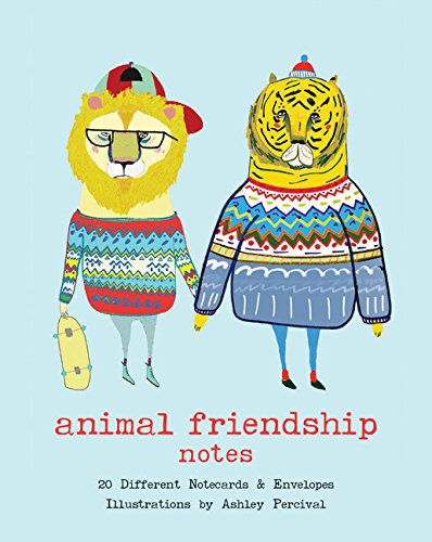 (Animal Friendship Notes: 20 Different Notecards & Envelopes)