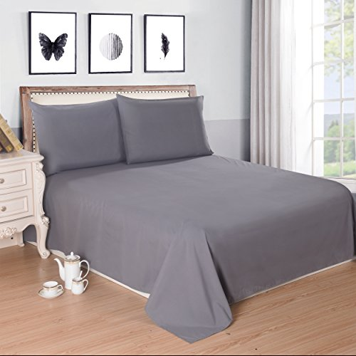 Best Price! Lullabi Bedding 100% Ultra Soft, Double-side Brushed Finish, Microfiber Bed Sheets Set -...