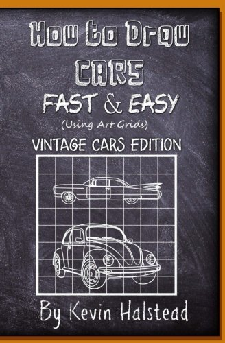 how to draw classic cars - 2