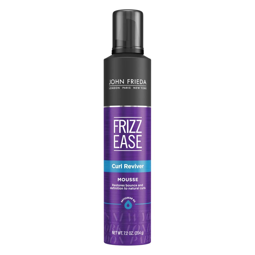 Frizz Ease Curl Reviver Styling Mousse by John Frieda for Unisex - 7.2 oz Mousse 717226127250