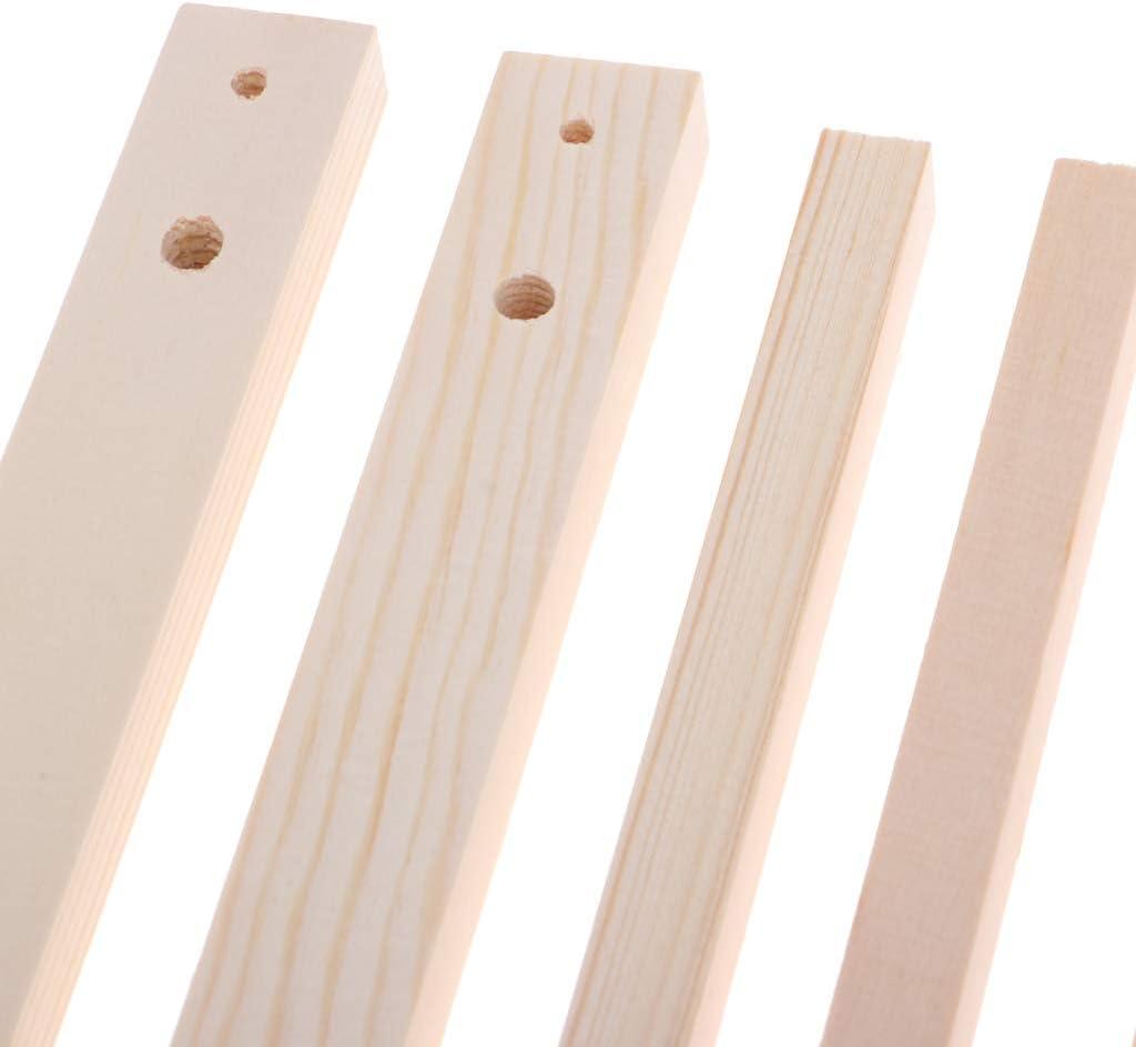 Wooden Assembled Garment Rack Clothes Organizer For 1//3 1//4 BJD AOD Doll