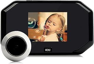 Demiawaking Spioncino Digitale per Porta 3.0 Pollici Spettatore LCD Telecamera Campanello con 145 Gradi Ultra Grandangolare Campanello per Sicurezza Domestica