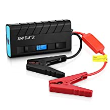 Pictek Car Jump Starter 3-in-1 ( Rechargeable Portable Mobile Power Bank, 500A Output, LED Flashlight) 13600mAh External Battery Charger