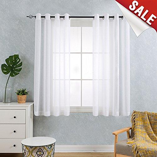 63 length sheer panel curtain - 3