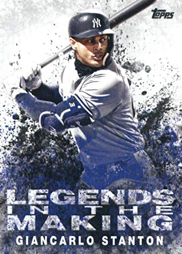 2018 Topps Update Legends in the Making #LITM-19 Giancarlo StantonYork Yankees Baseball Card