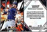 2018 Topps Fire Baseball #127 Travis Shaw Milwaukee Brewers