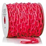 US Weight ChainBoss Plastic Chain – 125 Feet, Red