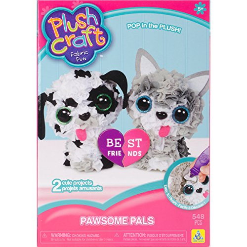 PlushCraft Pawsome Pals (Dogs And Cats Best Friends)