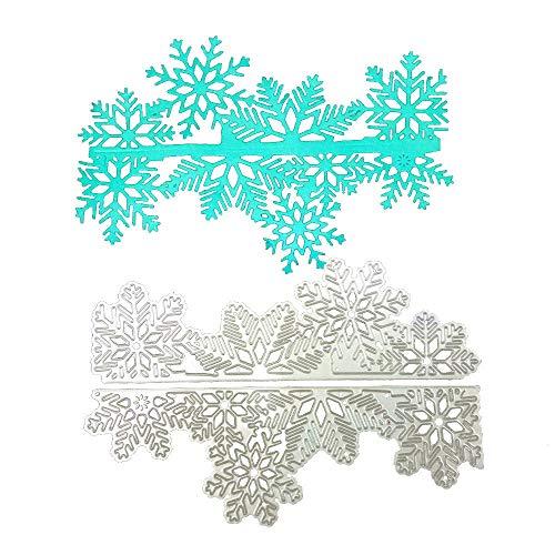 Cutting Dies,IHGTZS Metal die cuts for card making on clearance letter stencils wood burning stencils New Snowflake Metal Cutting Dies Stencils DIY Scrapbooking Album Paper -