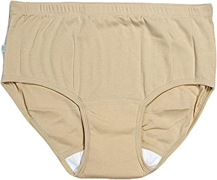 Color : Brown Diaper Covers,Adult Diaper Waterproof Reusable Machine Washable Incontinence Underwear Incontinence Pants for Old People and Disabled