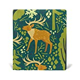 Book Covers Notebook Textbook Jumbo Size School Educational Supplies Office Homecoming Green Elk