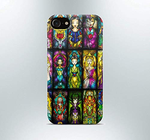 Inspired by Disney princess Phone case iPhone 7 plus X XR XS Max 8 6 6s 5 5s se Samsung galaxy s8 s7 edge s6 s5 s4 note art print cover characters love collage tv