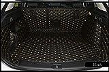 Worth-Mats 3D Full Coverage Waterproof Car Trunk Mat For Jaguar F-pace 2017 2018(Black)