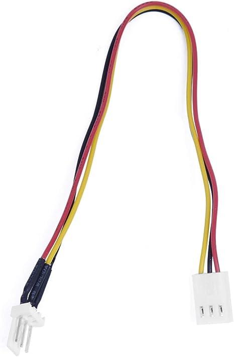 Tecnostore - Cable alargador de alimentación de 3 Pines para ...