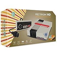 Hyperkin RetroN 1 HD Gris - Videoconsolas (NES / SNES, NTSC,PAL, 720p, Gris)
