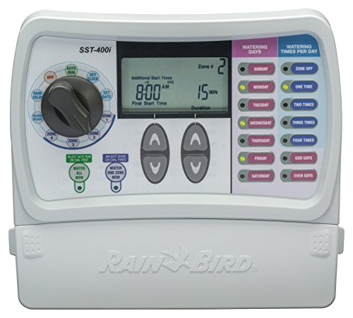 Rain Bird SST400I Simple To Set Indoor Timer, 4-Zone (Discontinued by Manufacturer; replaced by SST400IN) ()