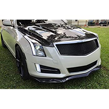 HCDSLSN Carbon Fiber Steering Wheel Paddle Extension Shifter Cover Trim for Cadillac ATS 2013-2018 ATS-V CT6 CTS CTS-V