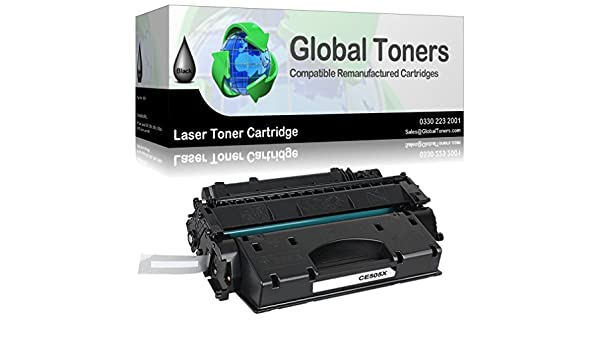 Global Toners Compatible Laser Toner Cartridge for HP05X ...