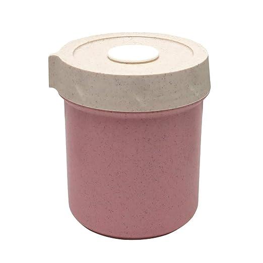 BESTONZON Sopa de microondas Tazas de Sopa Contenedores Fibra de ...