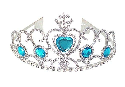 (Kuzhi Princess Elsa Tiara Coronation Crown - Special)
