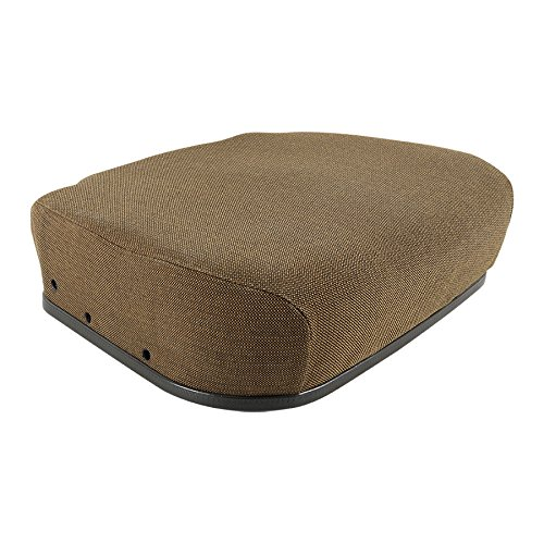 New Seat Cushion for Mechanical Suspension Fabric Brown John Deere 7200 4430 8430 4040 4755 4030 4055 4440 4850 4955 2355 4455 4840 7720 6600 4250 4650 6620 7700 2350 2750 4050 4230 4240 4450 4630 by Complete Tractor