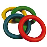 Junior Catch & Throw Rubber Quoits Pack Of 24 Assorted