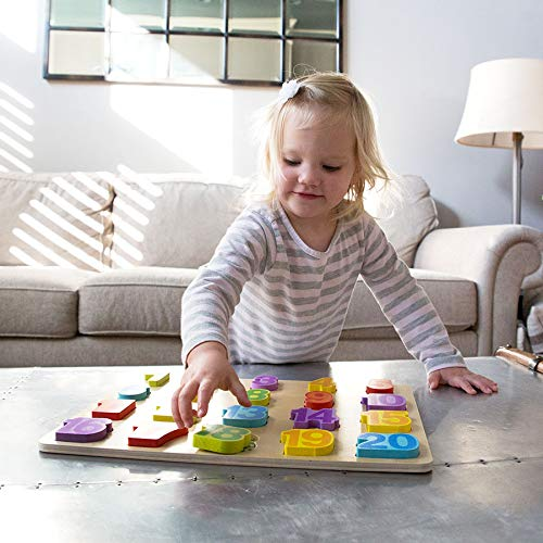 Number Adventure Wooden Puzzle, Education Toys, 2018 Christmas Toys