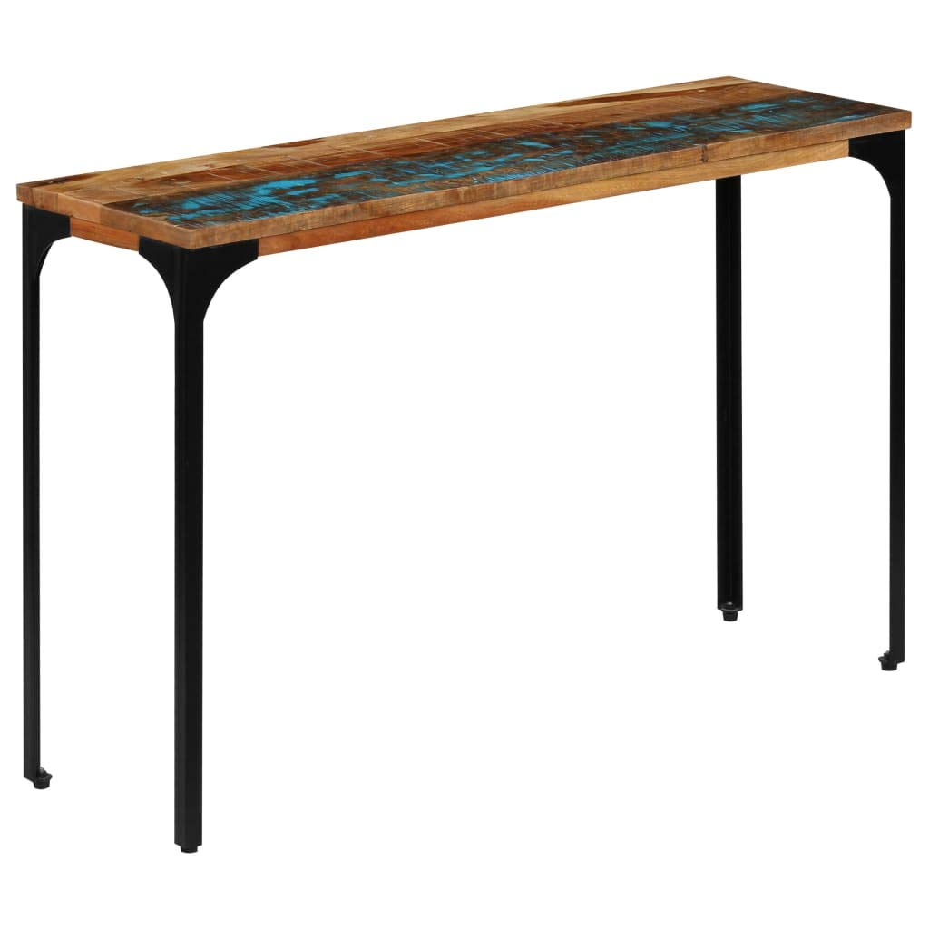 vidaXL Console Table 47.2''x13.8''x29.2'' Solid Reclaimed Wood Living Room Desk by vidaXL