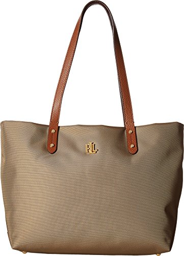 LAUREN Ralph Lauren Women's Bainbridge Shopper Khaki One - Ralph Shopper