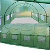 BenefitUSA Cover Canopy Replacement For Larger Hot Green House 20'X10'X7' Walk In Outdoor Plant Gardening Greenhouse (FRAME not Include)
