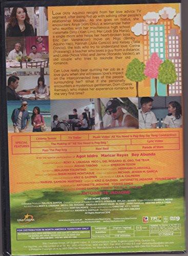 Amazon com: All You Need is Pag-ibig Filipino DVD: Kris