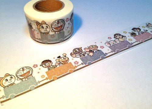 Fujiko F Fujio Museum Masking Tape A Truck Limited [Doraemon, Kiteretsu Daihyakka, Perman, Esper Mami, 21 Emon, Pokonyan!, Chimpui]
