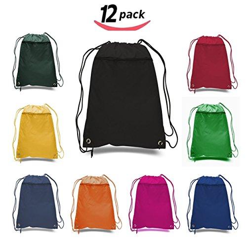 BagzDepot Promotional Polyester Drawstring Backpack