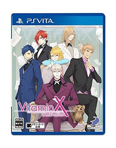 D3 Publisher Vitamin X Destination PS Vita SONY Playstation JAPANESE VERSION