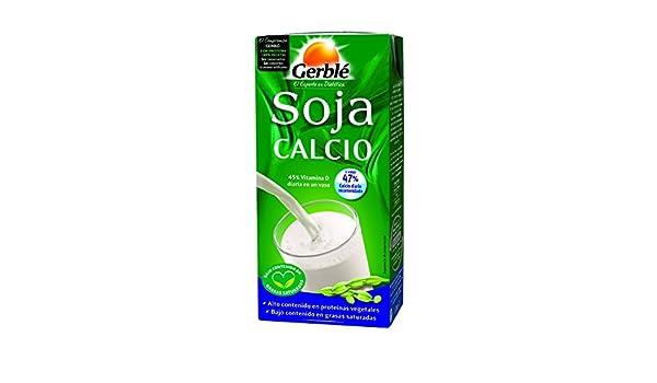 Gerblé - Soja Calcio - Leche de soja - 1 l: Amazon.es ...
