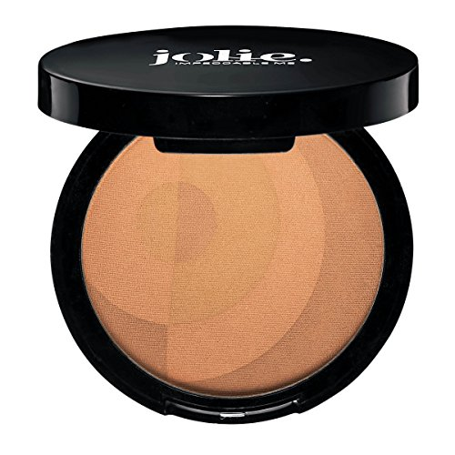 Jolie Mineral Sheer Matte Bronzer - Pressed Bronzing Powder - Sunkissed