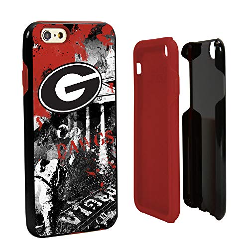Guard Dog Georgia Bulldogs Paulson Designs Spirit Hybrid Case for iPhone 6 / 6s with Guard Glass Screen Protector (Iphone 6 Cases Georgia)